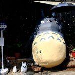 【台中大里景點】立體龍貓車站喬城站Dali Totoro,可愛立體龍貓彩繪牆,台中大里景點,IG打卡台中排隊景點,宮崎駿龍貓公車站 @upssmile向上的微笑萍子 旅食設影