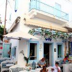 希臘自助行Alley Cafe & Cocktail Bar咖啡館,萍子推薦米克諾斯咖啡店,希臘咖啡獨特風味,米克諾斯咖啡館 @upssmile向上的微笑萍子 旅食設影