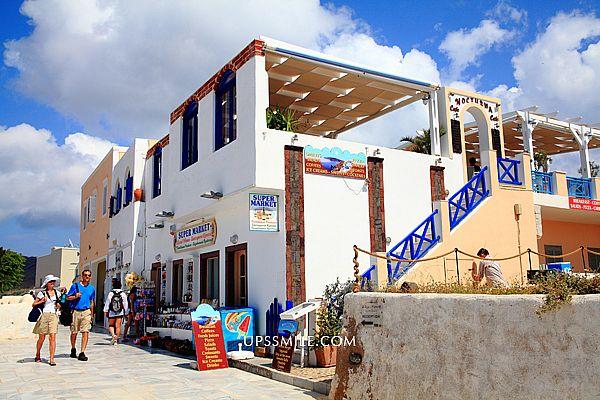 希臘自助行-Oia伊亞Nocturna Cafe,Oia伊亞view很棒的餐廳,遠眺Oia海景吃早午餐、義大利麵、喝調酒好地方,世界50大不可不去的浪漫之地,Oia攝影人的影像天堂