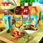 FUZE tea飛想茶部落客體驗會,可口可樂引進全球銷售額達10億美元FUZE tea飛想茶,有檸檬紅茶、雪梨鼠尾草複合紅茶、芒果洋甘菊複合綠茶3種飲品 @upssmile向上的微笑萍子 旅食設影
