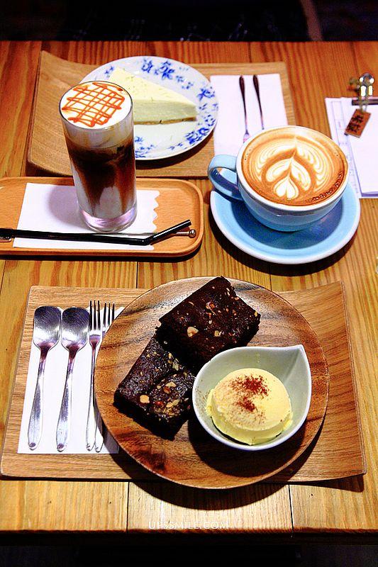 味旅vojaĝo,台北信義區咖啡館,近捷運市政府站1號出口咖啡館,紅磚牆老屋工業風設計咖啡館