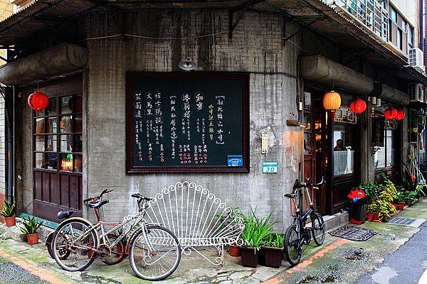 台北-秘氏咖啡,萍子推薦老上海復古奢華風格咖啡館,近古亭站3號出口,師大商圈的特色咖啡館,老屋老宅建築,老屋再生,古亭站咖啡館,台北咖啡館