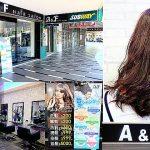 A&F Hair Salon台北車站美髮設計,萍子推薦台北捷運M7出口剪染護燙洗髮 @upssmile向上的微笑萍子 旅食設影