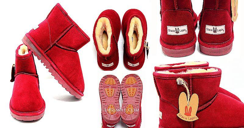【雪靴推薦】STACIE LAPIN雪靴設計師品牌,萍子嚴選YORK系列牛皮款超低筒雪地靴,嚴選進口牛皮,採進口100%羊毛作為內裏,保暖性佳雪靴,鞋底為雙色防滑鞋底,Stacie Lapin防滑雪靴,適合下雪地方遊玩,冬季穿搭時尚鞋款推薦,牛皮羊毛短靴 @upssmile向上的微笑萍子 旅食設影
