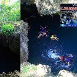 【薄荷島景點】Bohol Anda Cabagnow Cave Pool安達神秘洞穴泳池,萍子朝聖薄荷島冒險跳水行程,薄荷島行程推薦,Anda安達景點,IG打卡薄荷島 @upssmile向上的微笑萍子 旅食設影