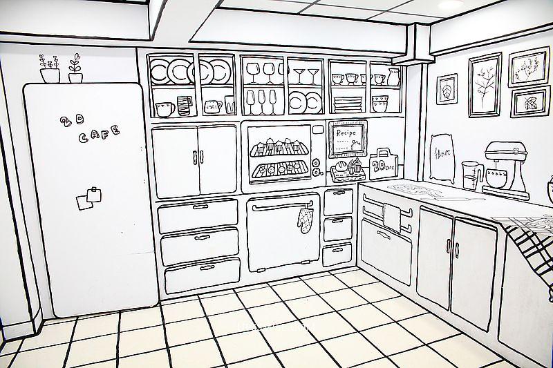 【台北師大商圈美食】2D Cafe,全台首間日韓超夯2d cafe漫畫咖啡廳黑白世界,2020年IG熱搜人氣咖啡廳,台北咖啡館,台電大樓站早午餐下午茶,師大商圈咖啡館 @upssmile向上的微笑萍子 旅食設影