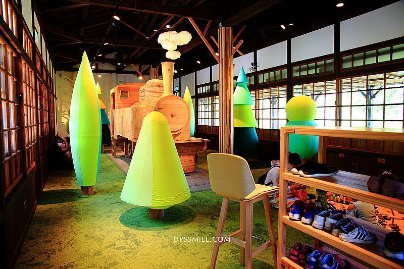 【宜蘭景點】林場Kids扣屋kiko wood,原木森林小火車林業主題遊戲館,羅東林場內預約親子景點,遛小孩必去,宜蘭親子館 @upssmile向上的微笑萍子 旅食設影