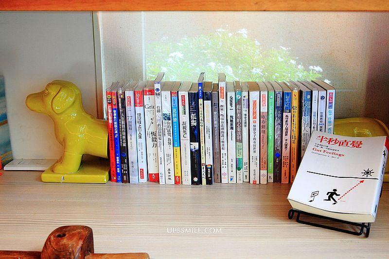 羅布森書蟲房,台中最美森林系獨立書店,烏日咖啡廳不限時,羅布森樓梯升降椅 @upssmile向上的微笑萍子 旅食設影