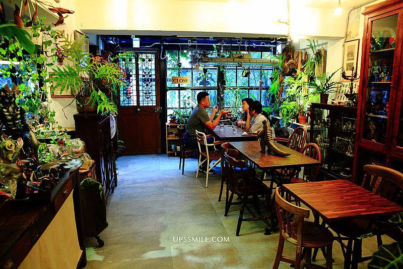 小青苑 Cyan Cafe,城市綠洲森林系咖啡館,進入老闆珍藏怪獸童趣世界,捷運市府站咖啡館,台北捷運美食攻略 @upssmile向上的微笑萍子 旅食設影