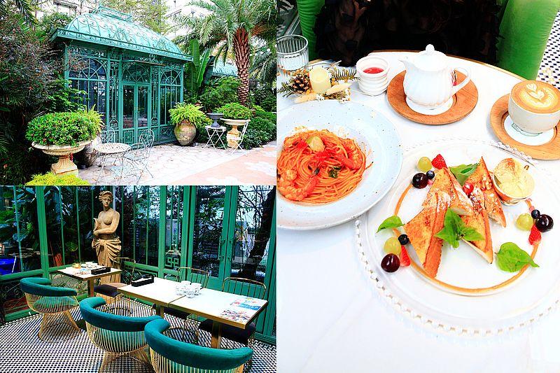 極度浪漫Super XOXO,台北最夢幻森林系花園玻璃屋餐廳,IG網美打卡餐廳,大直景觀餐廳推薦 @upssmile向上的微笑萍子 旅食設影
