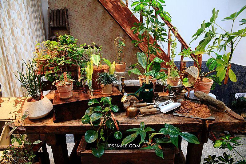 【台北美食】綠咖生活概念店,置身小溫室花園植栽咖啡館,2021新開幕網美咖啡館,延吉街咖啡館,信義安和站美食景觀餐廳推薦 @upssmile向上的微笑萍子 旅食設影