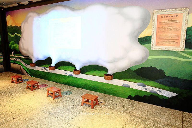 北投溫泉博物館Beitou Hot Spring Museum,日治時期公共浴場,塌塌米、羅馬拱柱環繞浴池、彩色玻璃拱門,北投石超強鎮店之寶,免門票台北景點, 北投一日遊情侶必去 @upssmile向上的微笑萍子 旅食設影