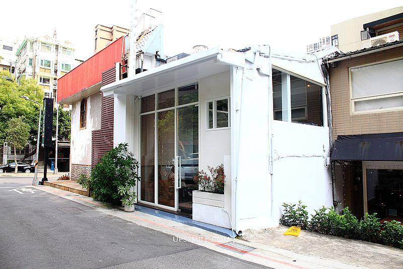 天母美食Weiss Cafe,Weiß純白韓風天母咖啡廳,Flügel Studio二店在天母,台北甜點必吃口袋名單 @upssmile向上的微笑萍子 旅食設影