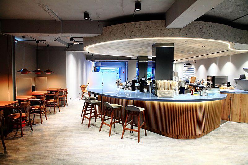 台北咖啡 THE NORMAL敦北店,捷運小巨蛋站不限時北歐風咖啡館,IG網美打卡台北景點,台北自家烘焙咖啡豆店 @upssmile向上的微笑萍子 旅食設影