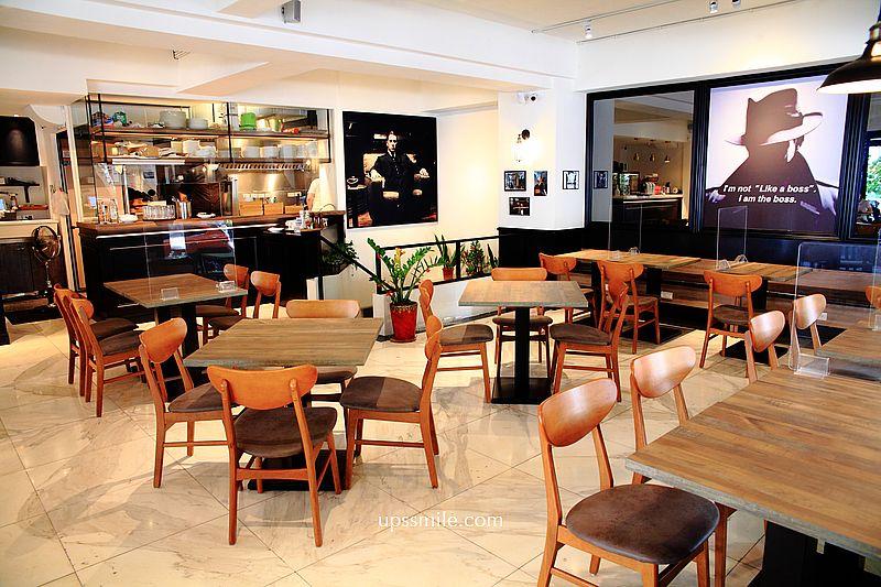 台北美食CAFÉ PADRINO教父咖啡,偽出國民生社區歐風義大利餐廳,IG網美打卡景點,台北特色咖啡廳 @upssmile向上的微笑萍子 旅食設影